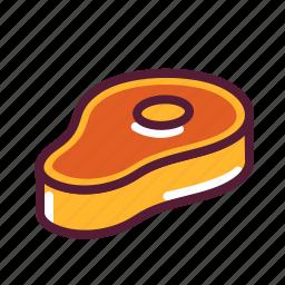 meat, steak, t-bone icon