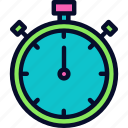 countdown, deadline, football, start, stopwatch, timer icon