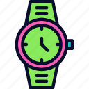 clock, football, referee clock, time icon