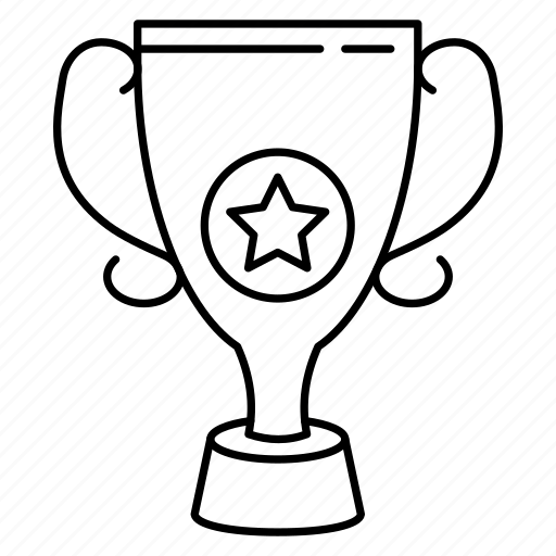 Award Champion Cup Trophy Winner Icon