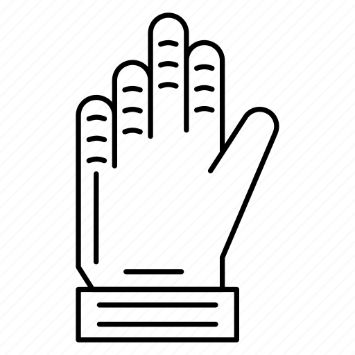 football, game, glove, hand, sport icon
