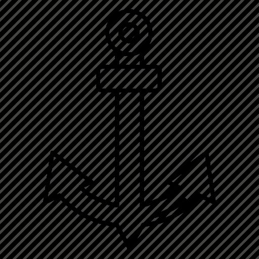 anchor, business, marketing, seo, ship icon