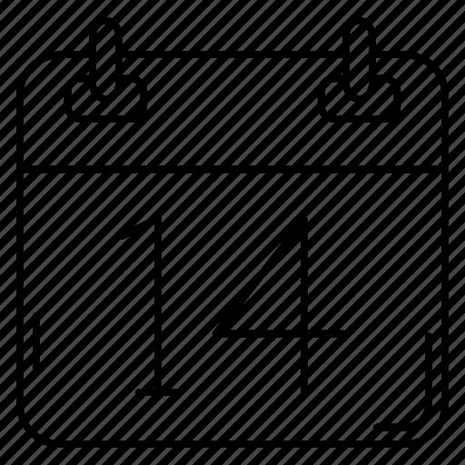 Calendar, date, deadline, event, festival icon - Download on Iconfinder