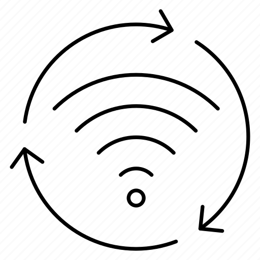 refresh, reload, rss, signal, wifi icon