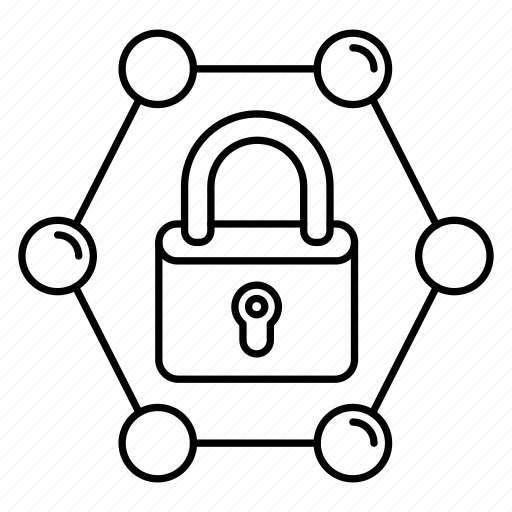 lock, private, safe, secure, sharing icon