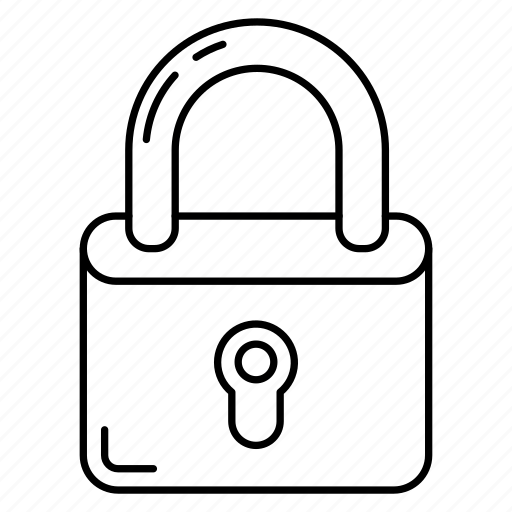lock, padlock, private, safe, secure icon
