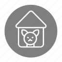 cage, care, dog, hollow, lover, perforated, pet