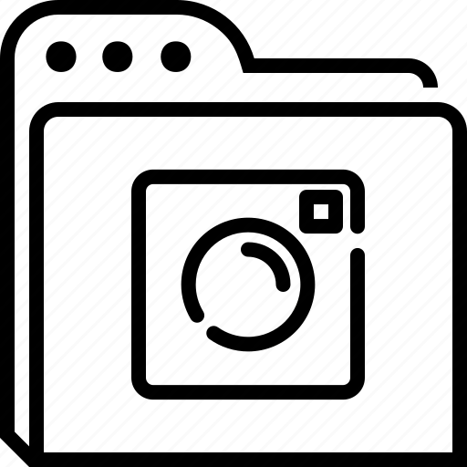folder, image, instagram, photo icon