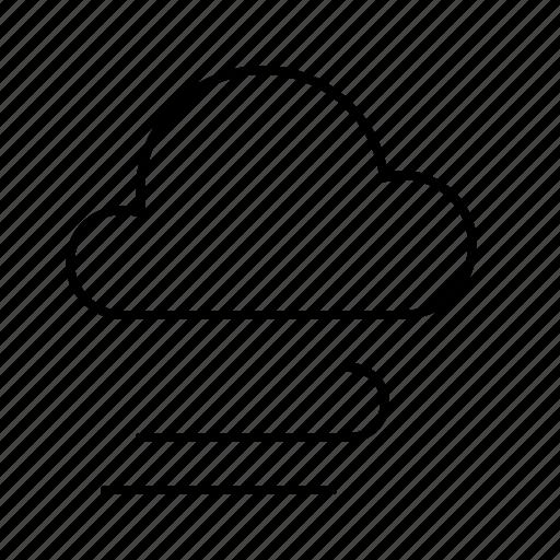 atmosphere, atmospheric, cloud, forecast, rain, weather, wind icon