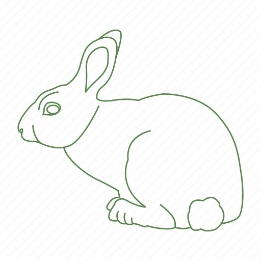 animal, bunny, cottontail, creature, forest, hop, rabbit icon