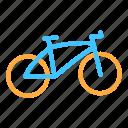 bike, transportation, vehicle icon
