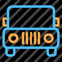 car, jeep, jip, transportation icon