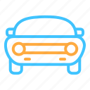 car, muscle, transportation, vehicle icon