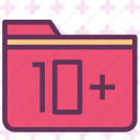 extension, file, folder, tag