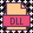dll, extension, file, folder, tag
