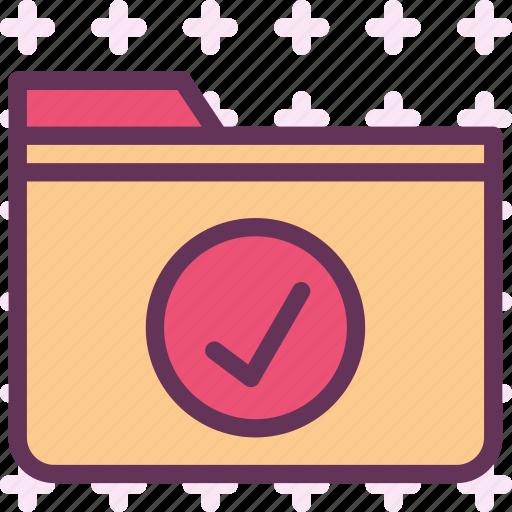 extension, file, folder, folderok, tag icon