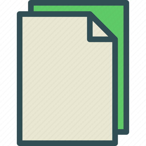 duplicate, extension, file, folder, tag icon
