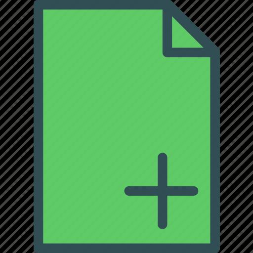 extension, file, fileadd, folder, tag icon