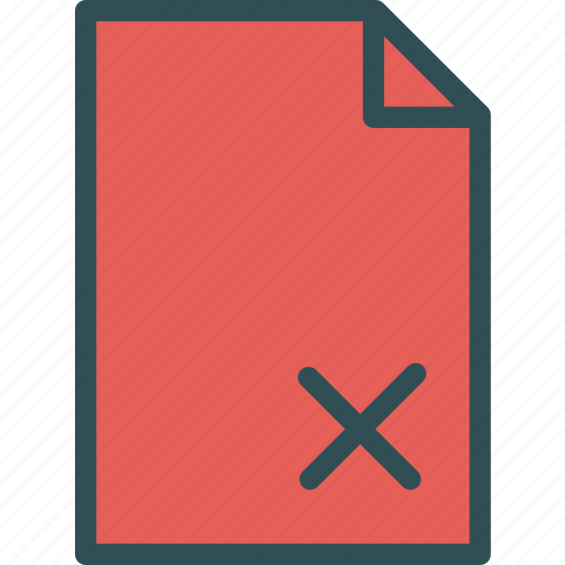 extension, file, filedenied, folder, tag icon