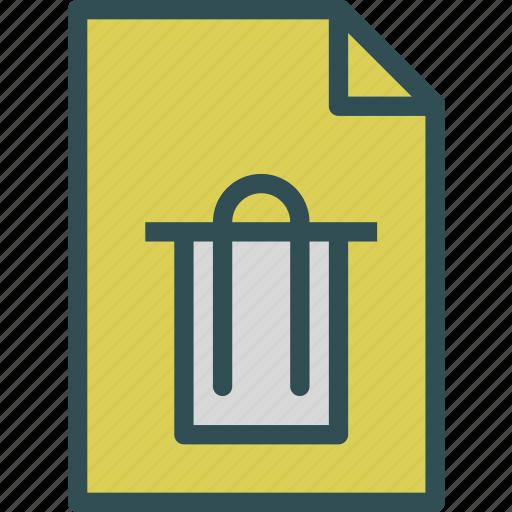extension, file, filetrash, folder, tag icon