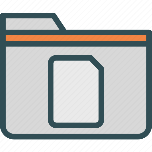 extension, file, folder, folderempty, tag icon