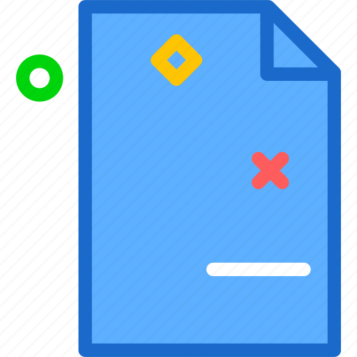 extension, file, fileminus, folder, tag icon