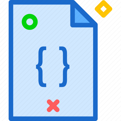 extension, file, filephp, folder, tag icon