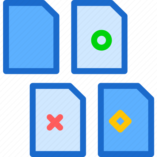 extension, file, files, folder, tag icon