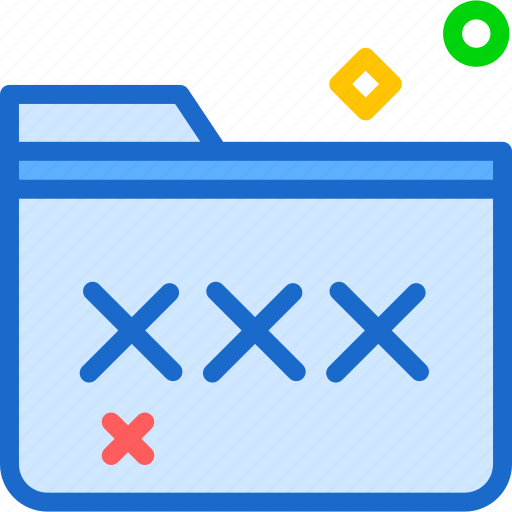 extension, file, folder, foldercoded, tag icon