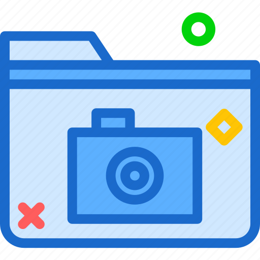 extension, file, folder, folderphoto, tag icon