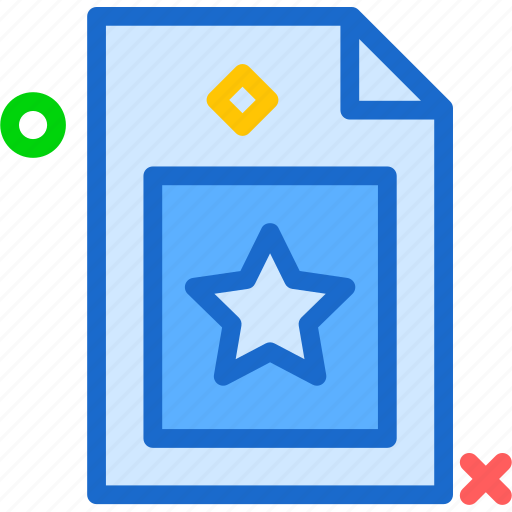 extension, favorite, file, folder, tag icon