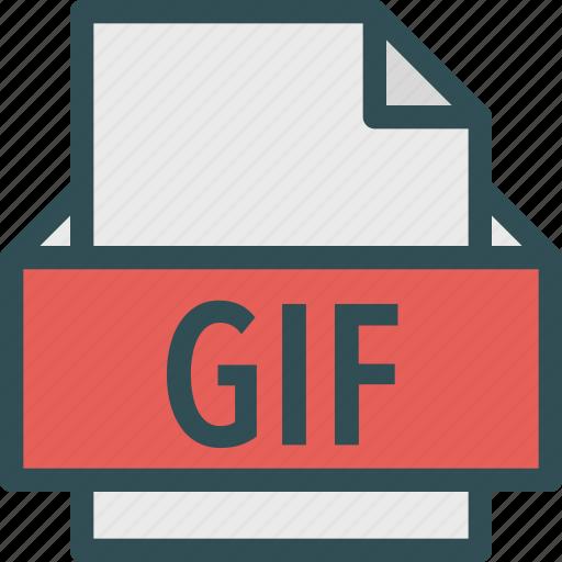 extension, file, folder, gif, tag icon