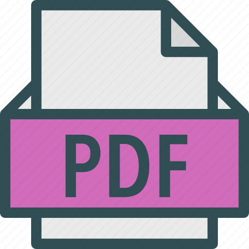 extension, file, folder, pdf, tag icon
