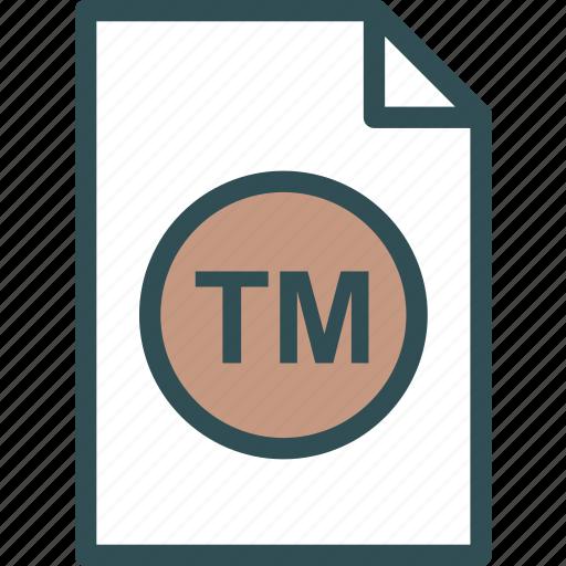 extension, file, folder, tag, trademark icon