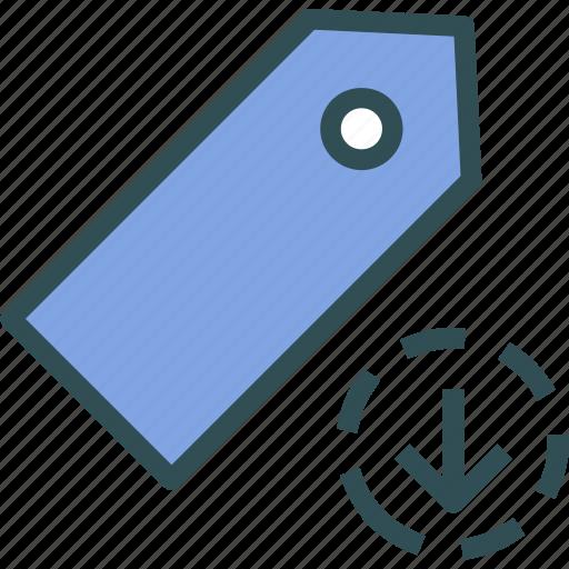 extension, file, folder, tag, tagdownload icon