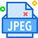 extension, file, folder, jpeg, tag icon