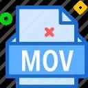 extension, file, folder, mov, tag