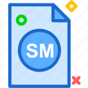 extension, file, folder, servicemark, tag icon