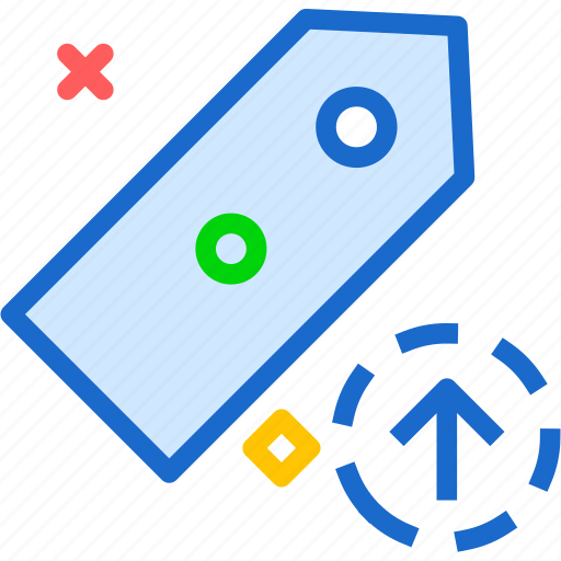 extension, file, folder, tag, tagupload icon