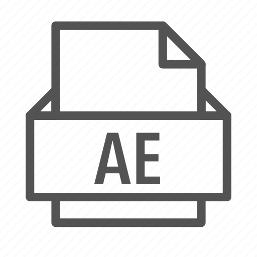 adobe, ae, after, computer, effects, extension, file icon