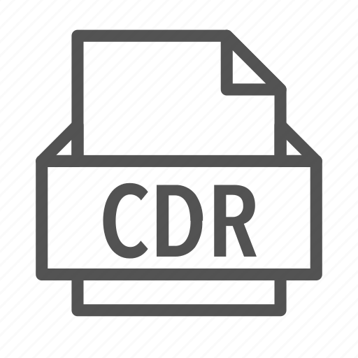 cdr, corel, draw, extension, file icon