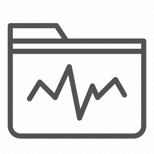 analysis, computer, folder, graph, pc icon