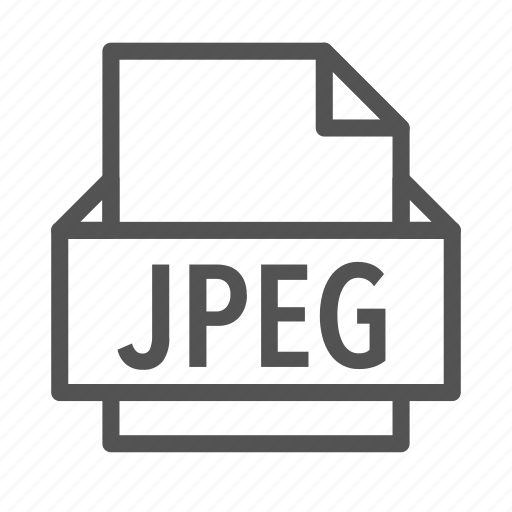 extension, file, jpeg, photo, picture icon