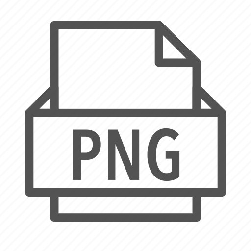 extension, file, graphics, network, png, portable icon