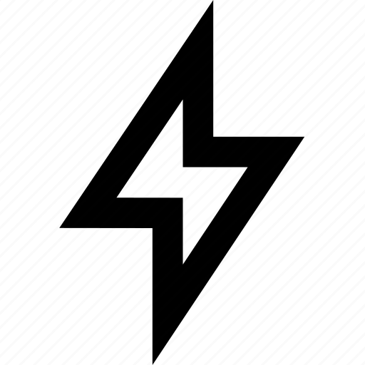 bolt, electricity, thunder icon