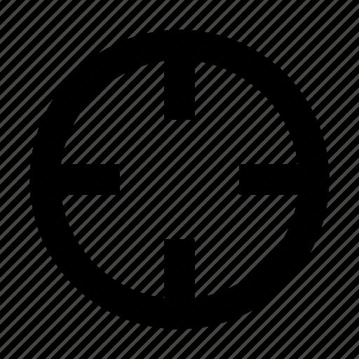 crosshair, target icon
