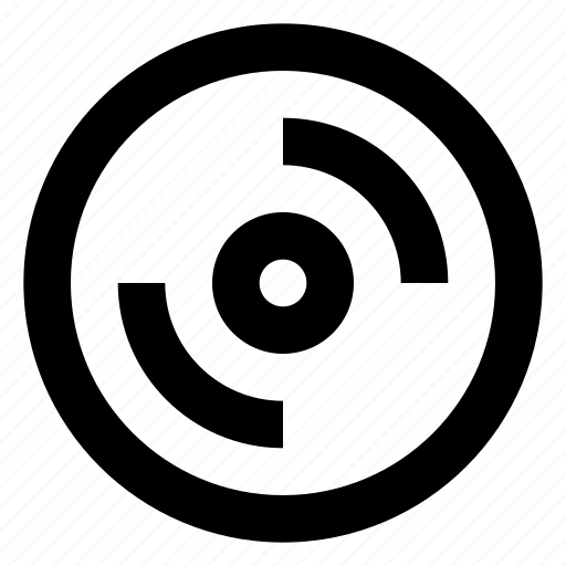 data, disc, record icon