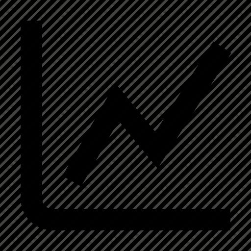 graph chart, line chart icon