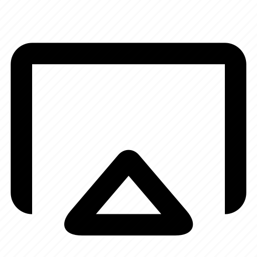 external screen, screenshare icon