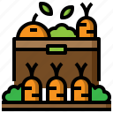 crops, farming, gardening, plant, plants, sprout icon
